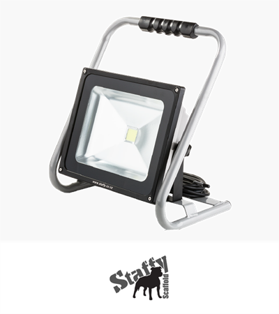 Staffy Scaffolds Plug In LED Flood Light 50W
